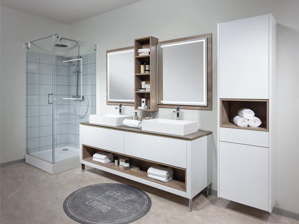 Beautiful Badezimmer Mit Doppelwaschbecken Pictures - Erstaunliche ...