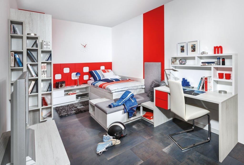 Jugendzimmer p max ma m bel tischlerqualit t aus for Jugendzimmer lutz