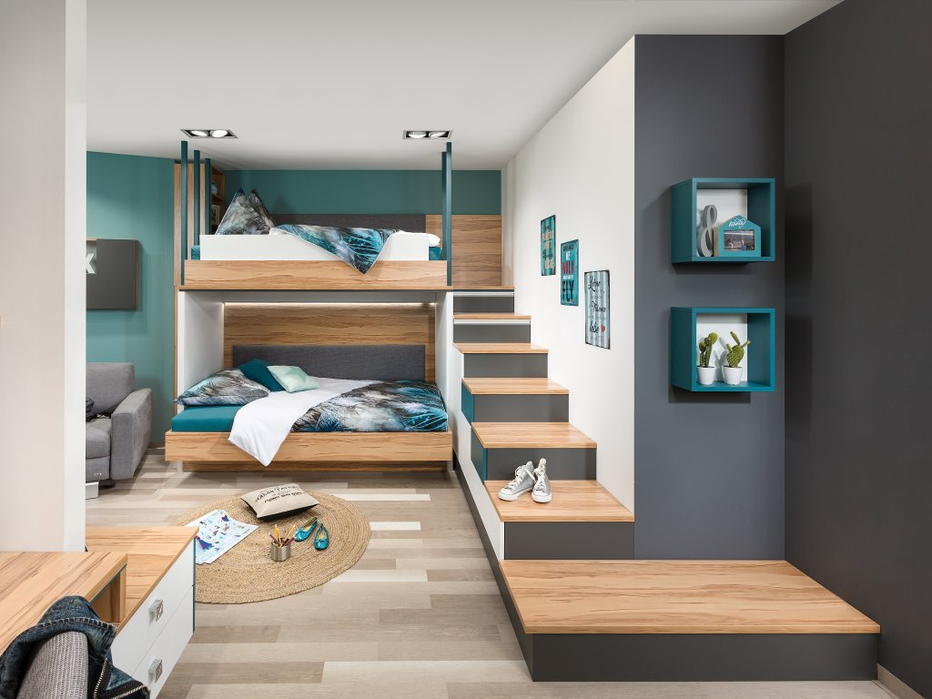 jugendzimmer p max ma m bel tischlerqualit t aus. Black Bedroom Furniture Sets. Home Design Ideas