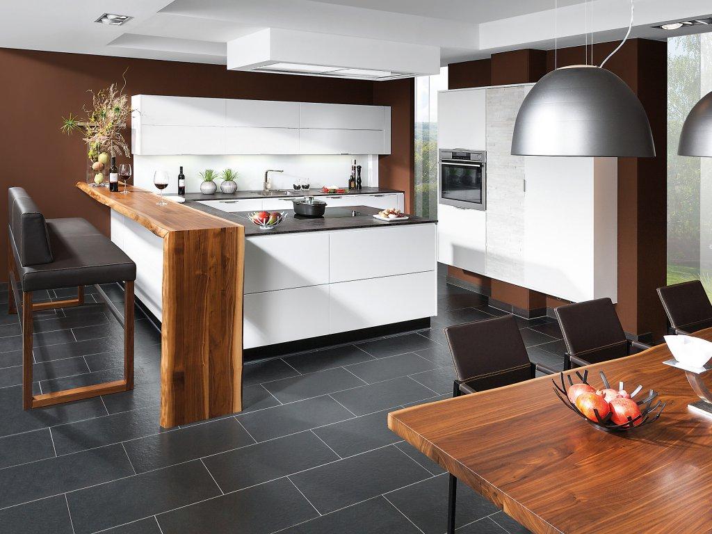 Küchenzeile Mit Integriertem Tisch ~ Noveric For .