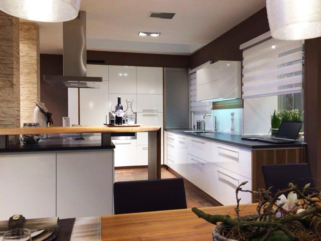 U Küche Mit Bar Theke. Kundenplanung 0031 ...