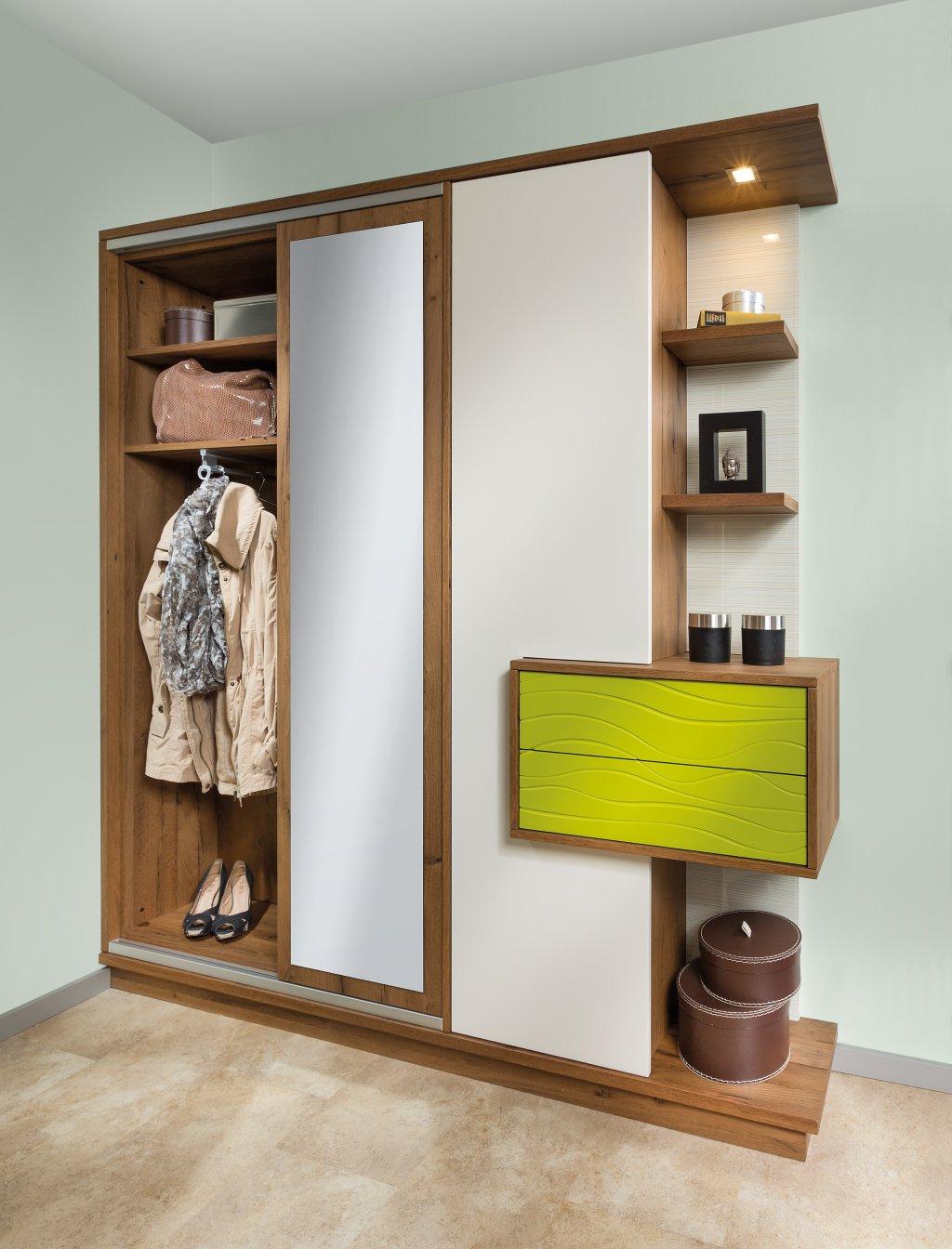 Planungsbeispiel max vorzimmer 0073 p max ma m bel for Einbauschrank garderobe modern
