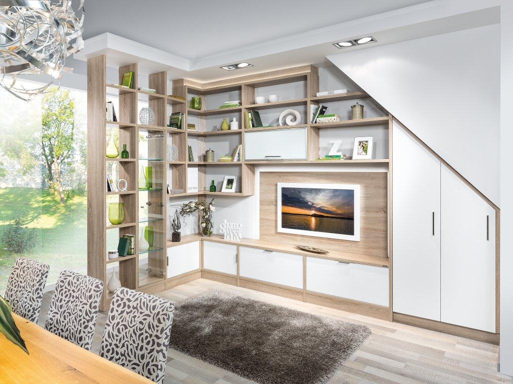 Dachschräge   P.max Maßmöbel   Tischlerqualität Aus Österreich, Wohnzimmer