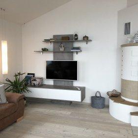 Wohnwand mit TV-Paneel