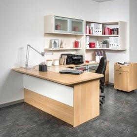 Büro mit Rollcontainer