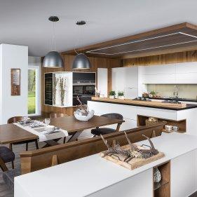 Wohnküche mit Sitzgruppe