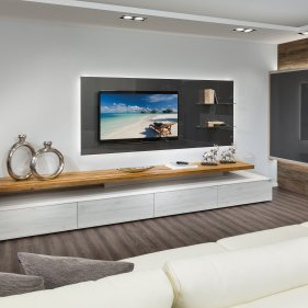 tv paneel p max ma m bel tischlerqualit t aus sterreich. Black Bedroom Furniture Sets. Home Design Ideas