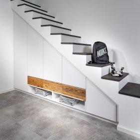 Treppenverbau