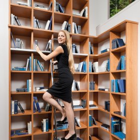 bibliothek | p.max maßmöbel - tischlerqualität aus Österreich, Wohnzimmer