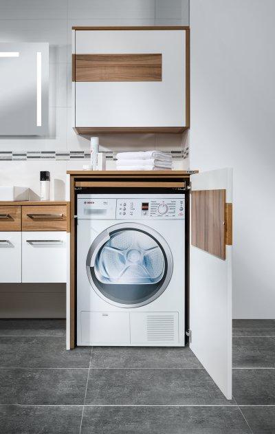 Waschmaschinenverbau Mit Rollfachauszug