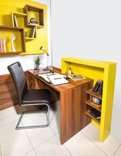 Schreibtisch mit Empfangspult