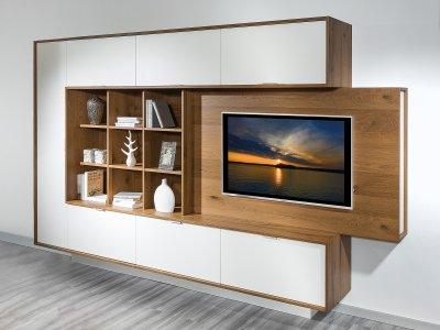 HiFi-Wand passend zur Wohnküche