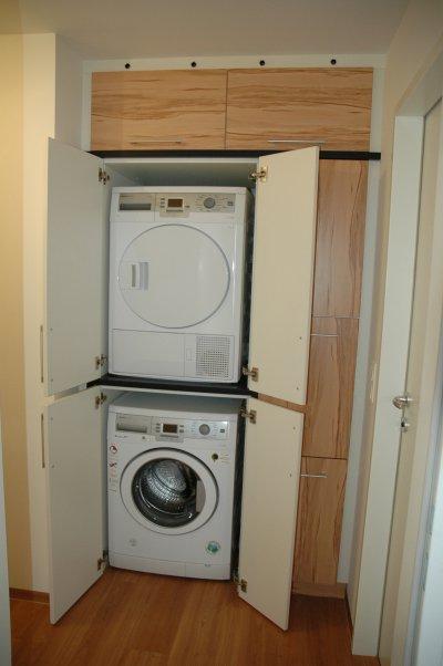 Hochschrank für Waschmaschine und Trockner