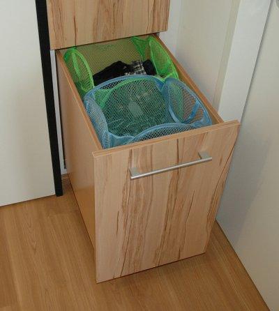Ladenauszug für Wäschesäcke