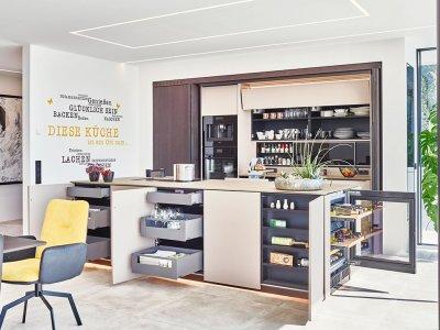 Küche mit vielen Funktionen