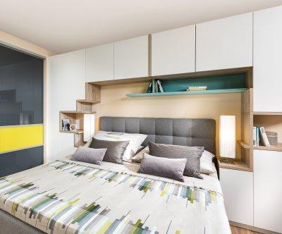 Schlafzimmer Bett Mit überbau ~ Bild der Wahl über Inspiration von ...