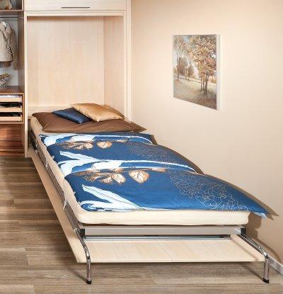 Einzelbetten p max ma m bel tischlerqualit t aus for Jugendzimmer mit klappbett