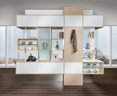 Fernsehwand als raumteiler  Wohnzimmer | P.MAX Maßmöbel - Tischlerqualität aus Österreich