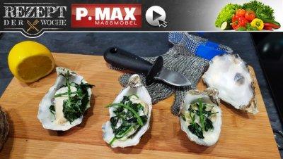 Rezept der Woche: Überbackene Austern