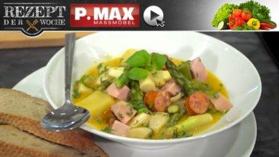 Rezept der Woche: Spargel-Erdäpfel-Gulasch