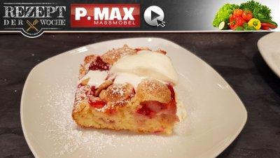 Rezept der Woche: Erdbeerstreuselkuchen