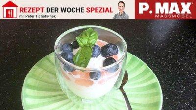 Spritziges Prosecco-Dessert