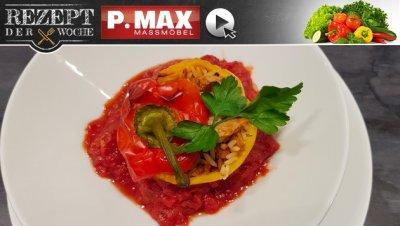 Rezept der Woche: Vegan gefüllte Paprika