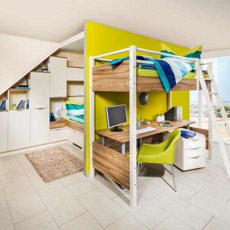 hochbetten p max ma m bel tischlerqualit t aus sterreich. Black Bedroom Furniture Sets. Home Design Ideas