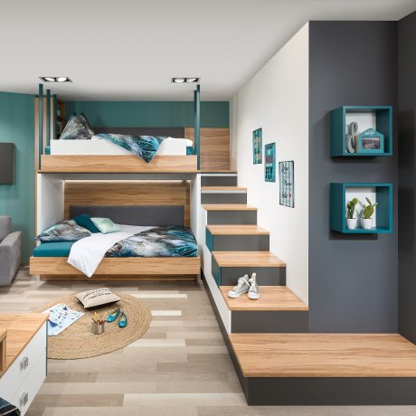hochbetten p max ma m bel tischlerqualit t aus sterreich. Black Bedroom Furniture Sets. Home Design Ideas