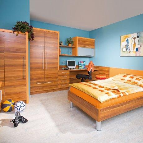 Jugendzimmer mit Nischenlösung