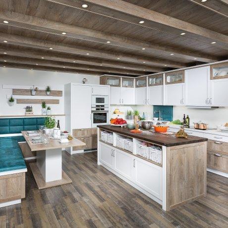 Küche im Landhaus-Stil