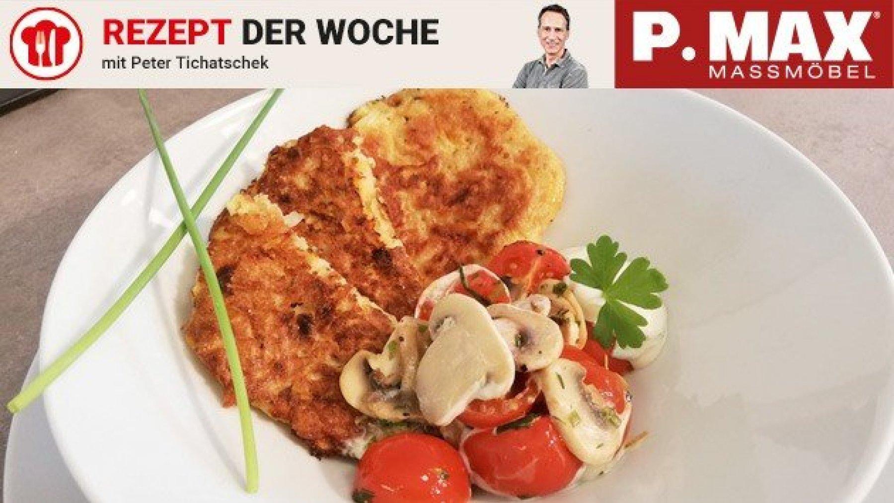 Kürbis-Erdäpfel-Puffer